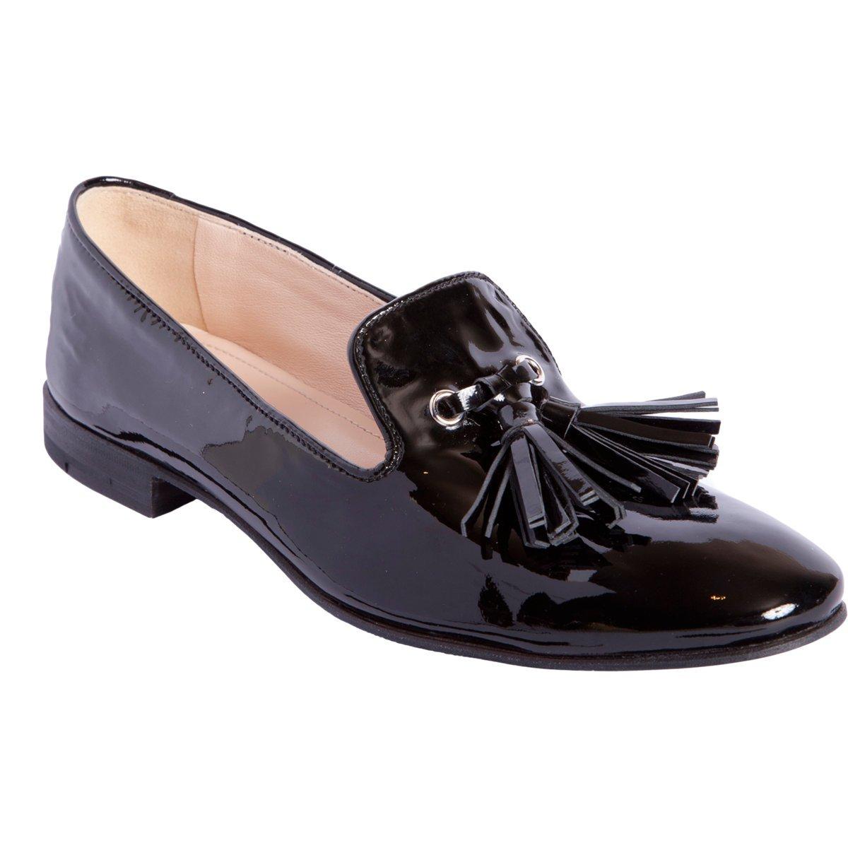 Tassel leather loafers Prada weAF6LqM