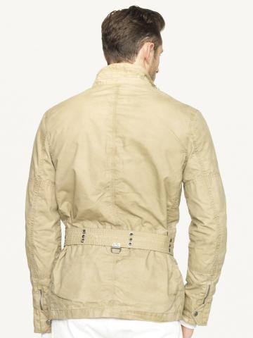 Ralph Lauren Black Label Waxed Cotton Mariner Jacket In