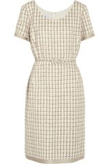 Oscar de la Renta Cottonblend Tweed Dress