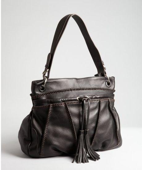 Sondra Roberts Designer Leather Shoulder Bags 5