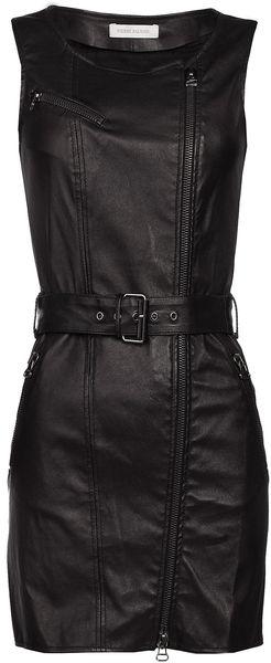 Balmain Sleeveless Dress  in Black