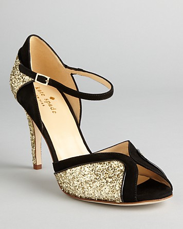 Kate spade new york Peep Toe Evening Sandals Corinne High Heel in