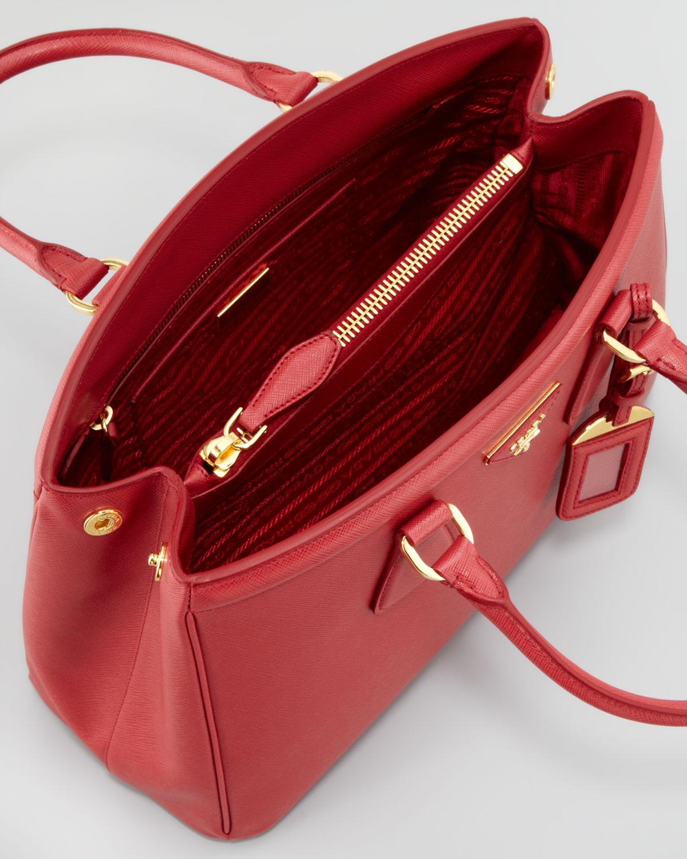 Prada Bag Red Inside