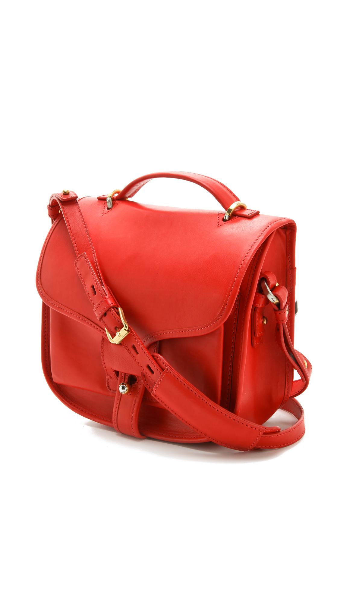 Lyst Opening Ceremony Ace Shoulder Bag In Red