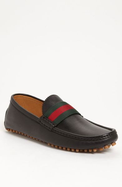 Gucci New Auger Driving Shoe in Black for Men - Lyst