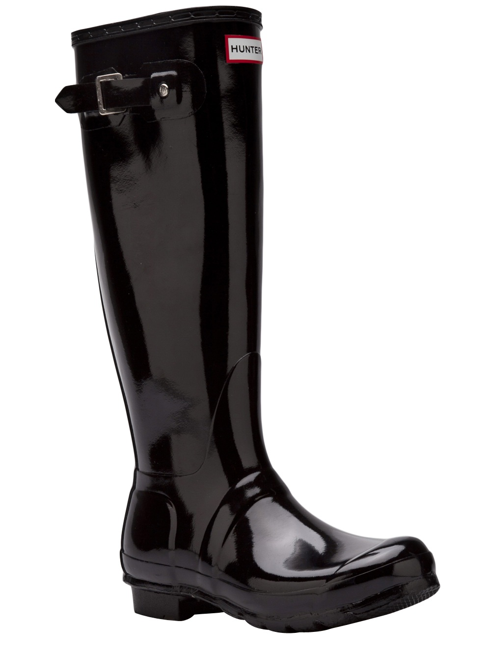 Hunter Original Tall Rain Boot In Black Lyst