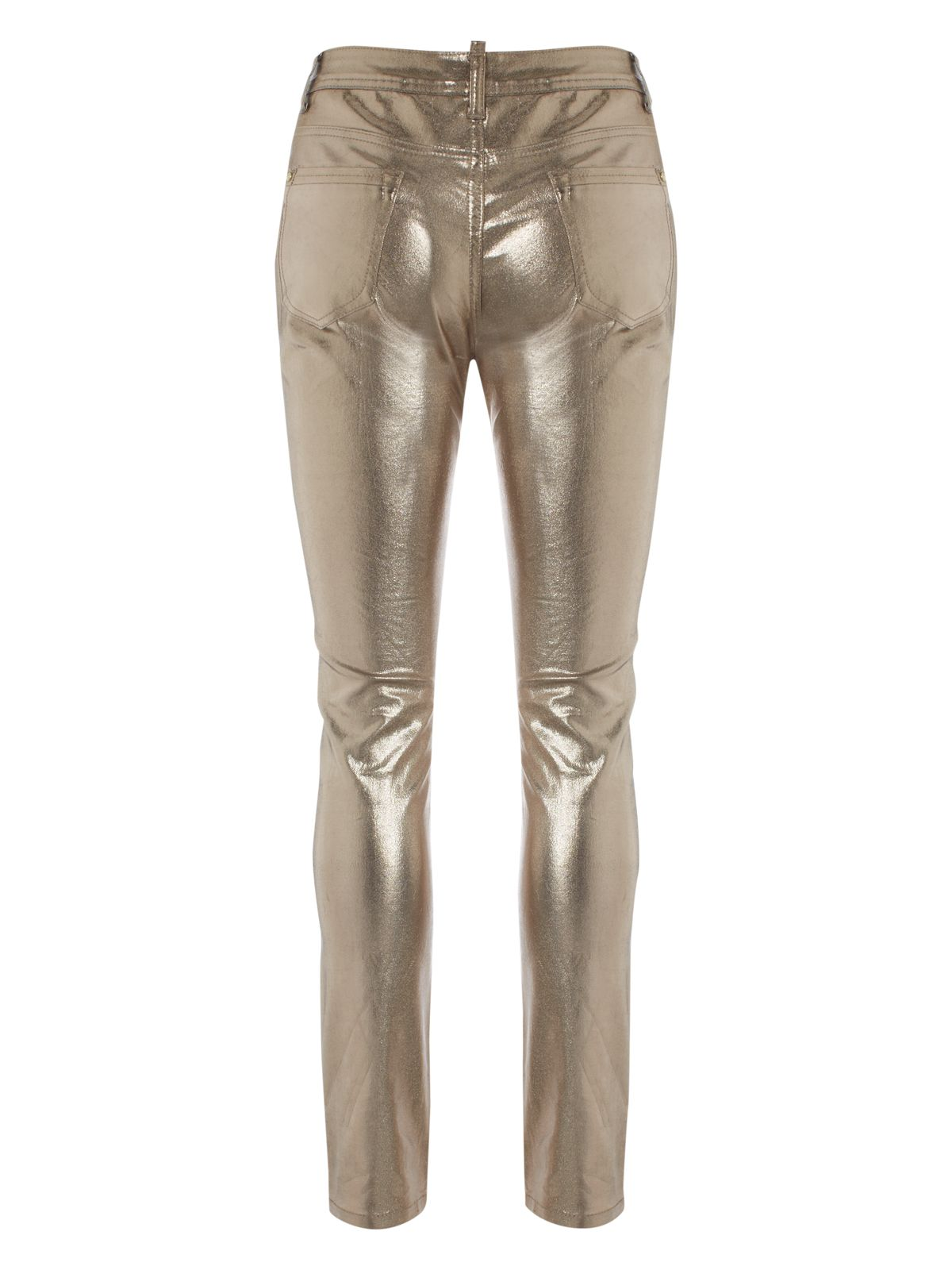Jane Norman Metallic Skinny Jeans