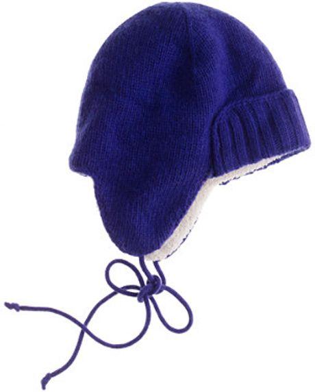 Trapper Hat j Crew J.crew Trapper Hat in Blue