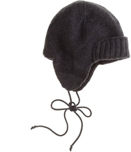 Trapper Hat j Crew J.crew Trapper Hat in Black