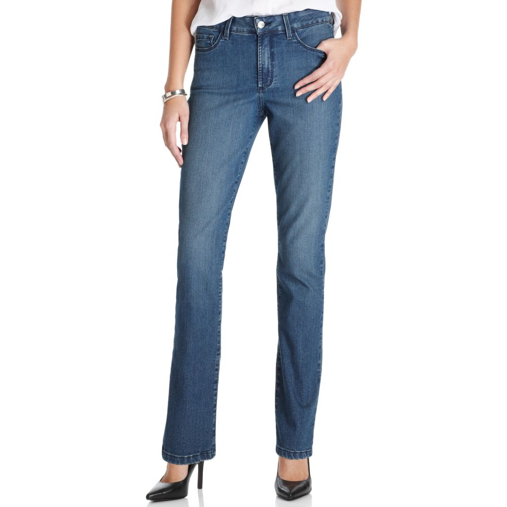 not your daughter 39 s jeans sherri skinny jeans in blue lyst. Black Bedroom Furniture Sets. Home Design Ideas