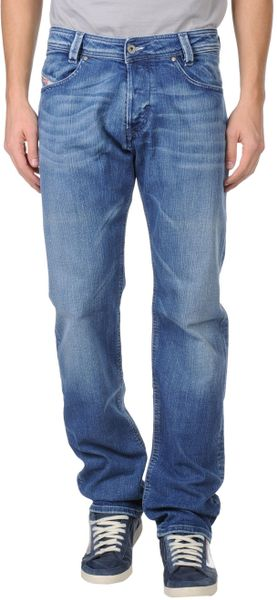 Diesel Denim Trousers in Blue for Men