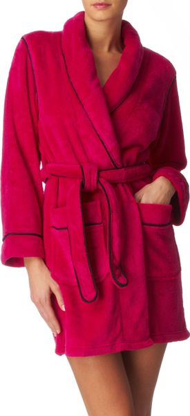 Dkny Short Robe in Pink