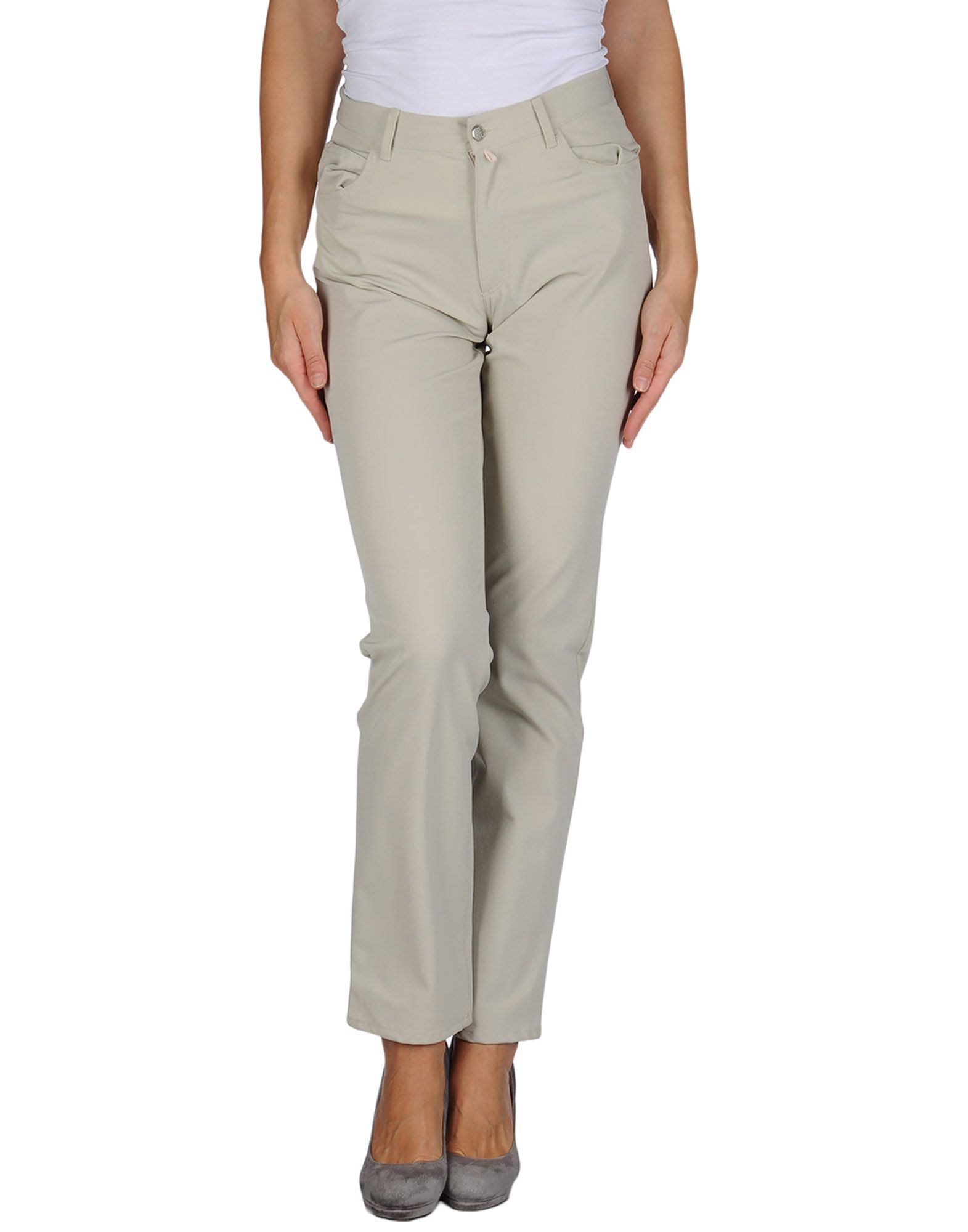 marith et fran ois girbaud casual trousers in gray lyst. Black Bedroom Furniture Sets. Home Design Ideas