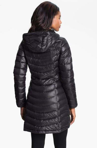 The North Face Jenae Hooded Down Jacket Nordstrom Exclusive in Black
