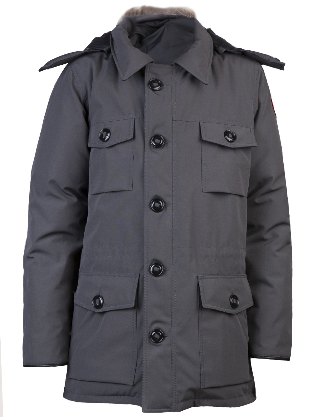 194b5a062d84 ... promo code for canada goose banff parka in gray for men lyst 3bc7c dbf0e