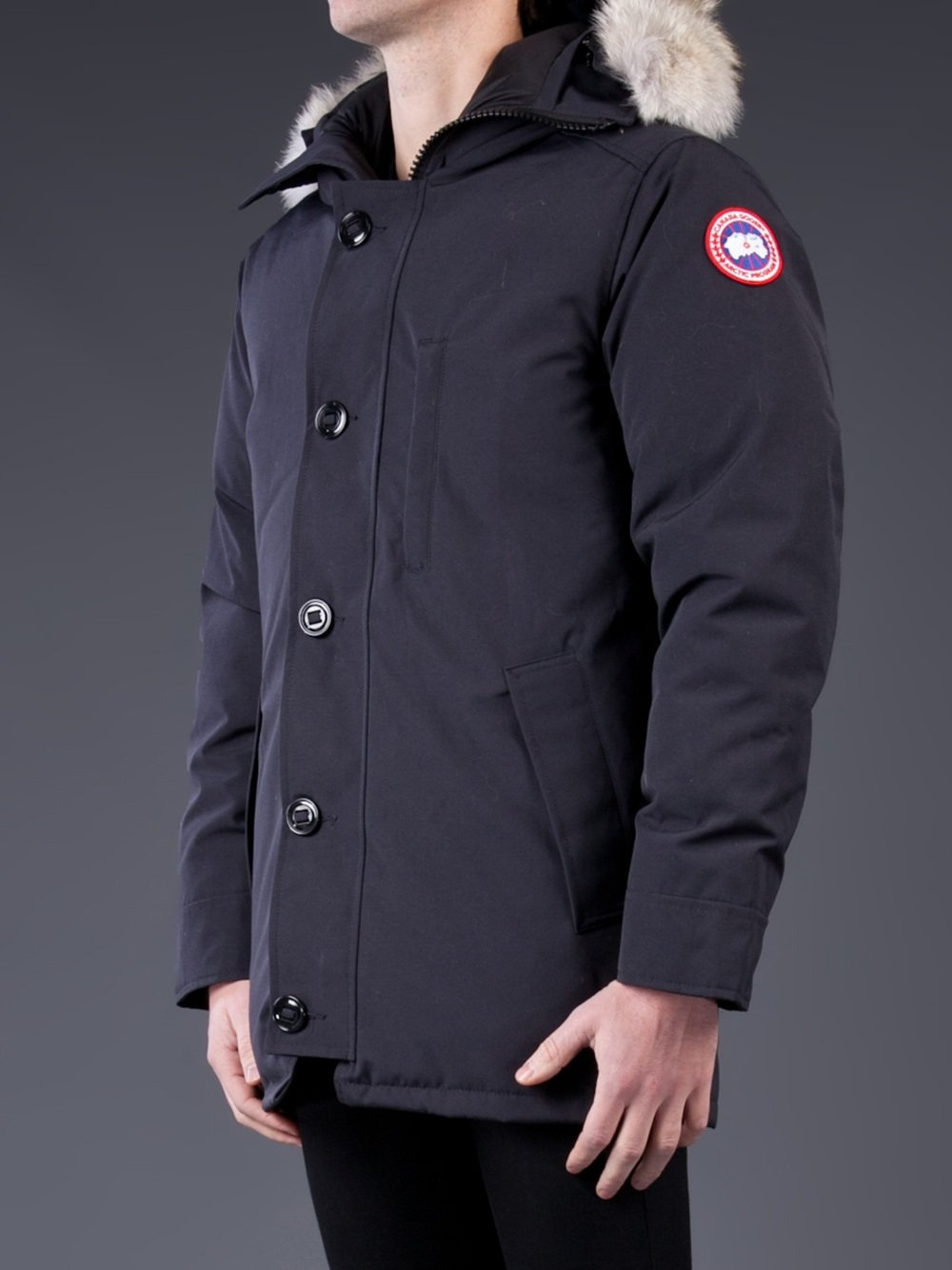 Canada Goose Chateau Parka in Blue for Men - Lyst 851a7111cd84