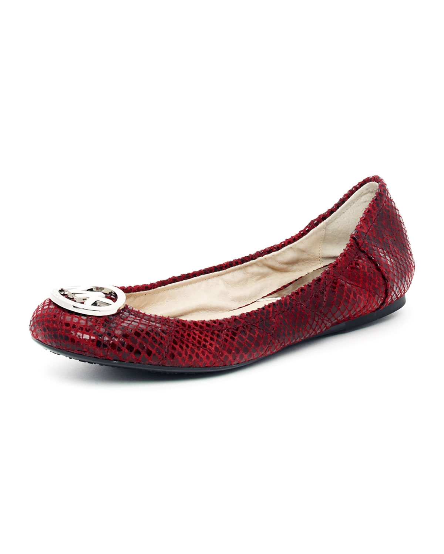 Michael Kors Fulton Shoes Red