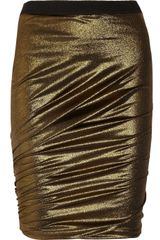 By Malene Birger Disco Metallicjersey Skirt