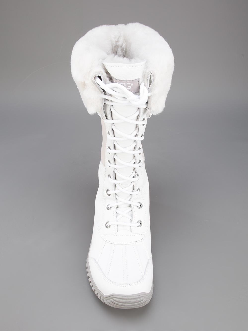 a803722261f White Ugg Lyst Boot Snow Adirondack In fw4Iaq