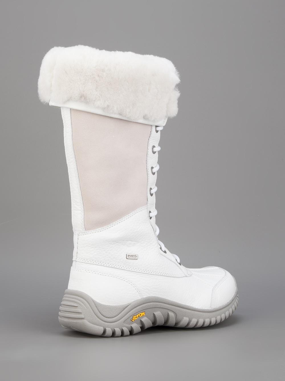 Ugg Adirondack Snow Boot In White - Lyst-3677