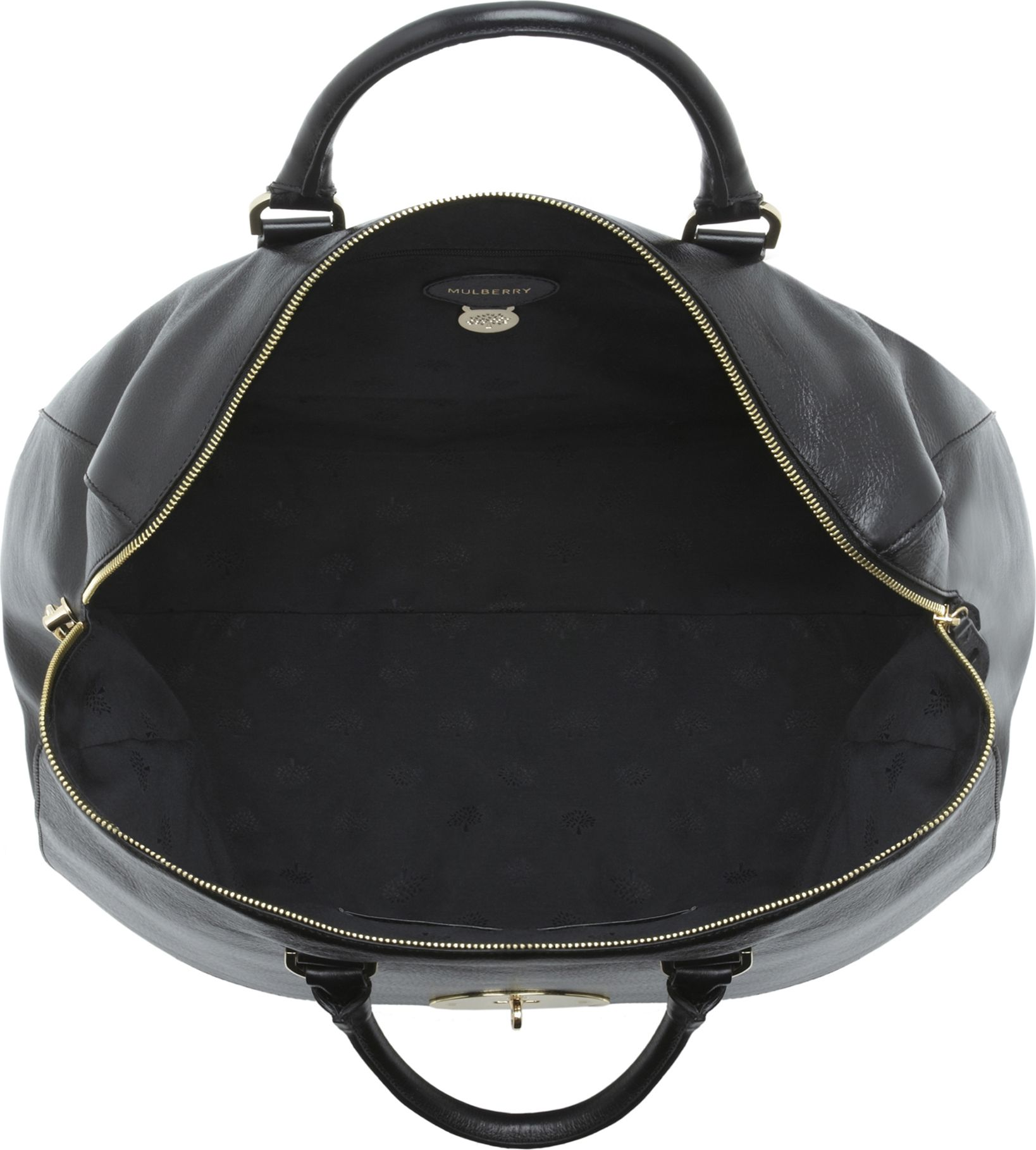 c635ef4c0643 ... clearance mulberry del rey oversized spongy leather bag in black lyst  ccd47 a4872
