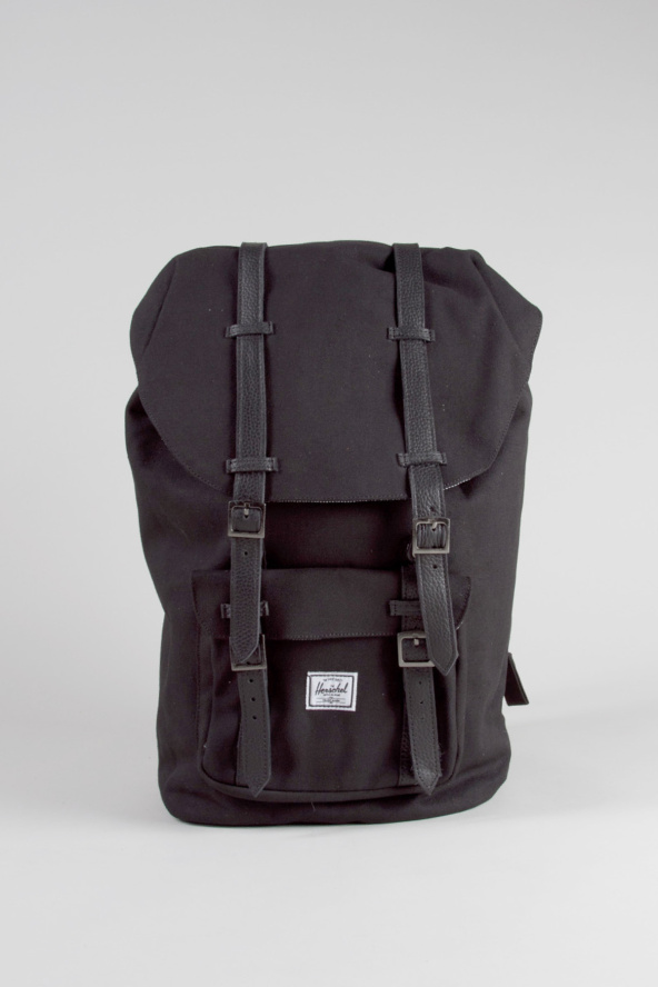 Up to 30% Off Herschel Supply Co. Little America Backpack In Black 3eba30a1adda3