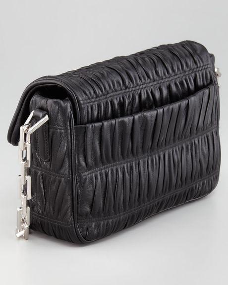 Prada Nappa Gaufre Chain Shoulder Bag 66
