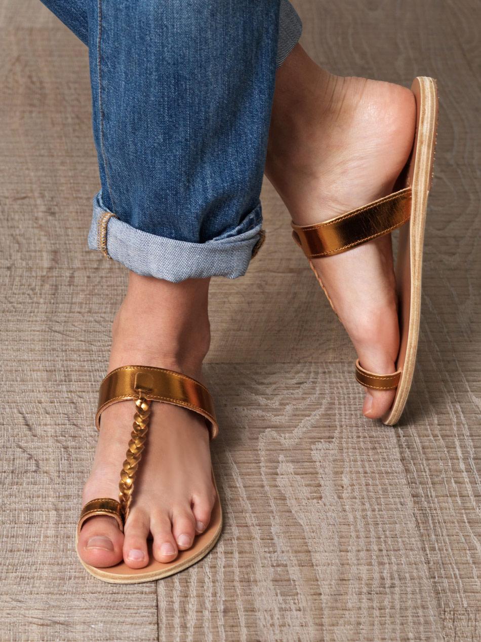 Ancient Greek Sandals Melpomeni leather sandals Clearance Shop Outlet Big Discount 3QYu0D