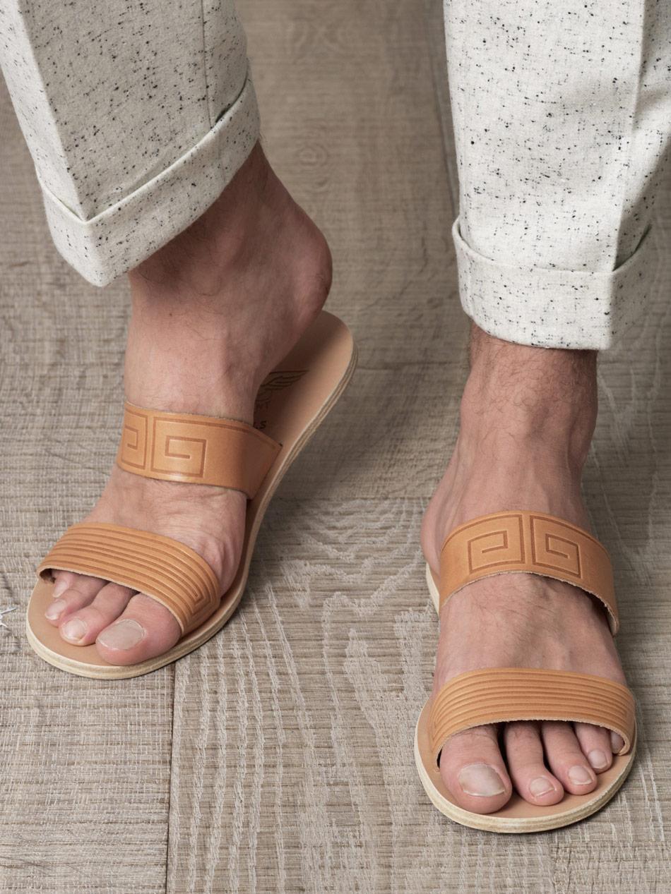 cf099991469d Lyst - Ancient Greek Sandals Zeus Sandals in Brown for Men