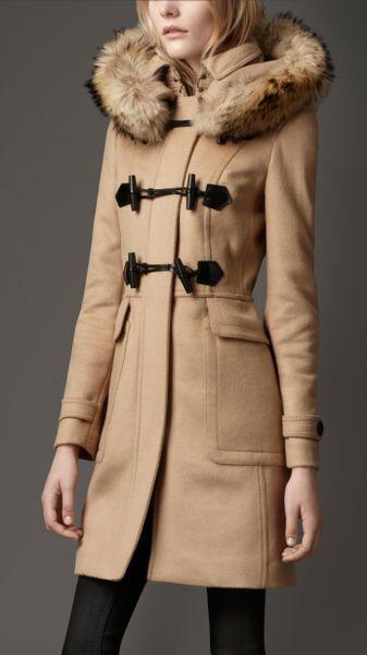 home women coats duffle coat burberry brit paddlesdale wool dufflecoat