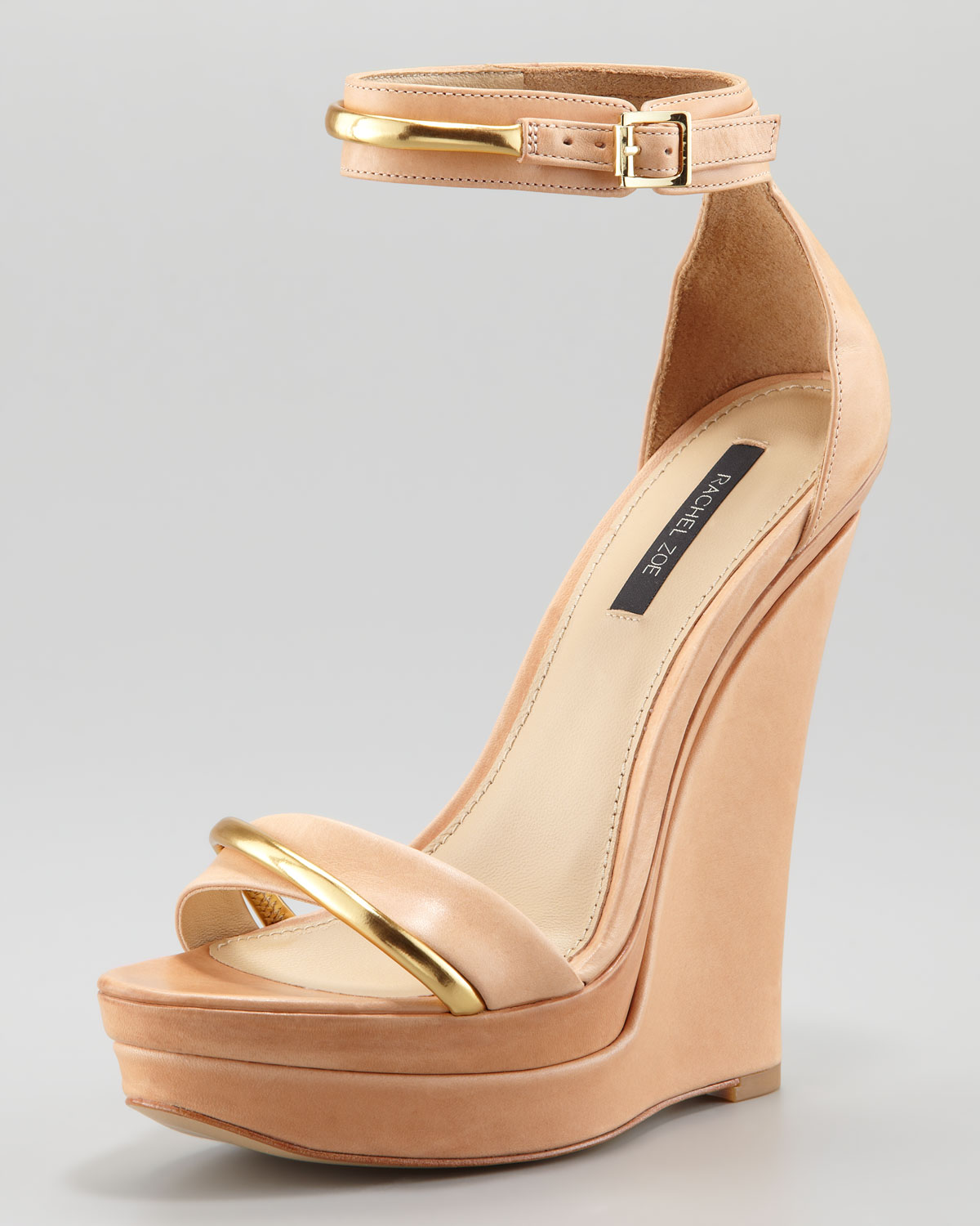 27b0ee7618d8 Lyst - Rachel Zoe Katlyn Wedge Sandal in Natural