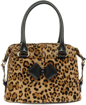 Ted Baker Brandy Leopard Bag - Lyst
