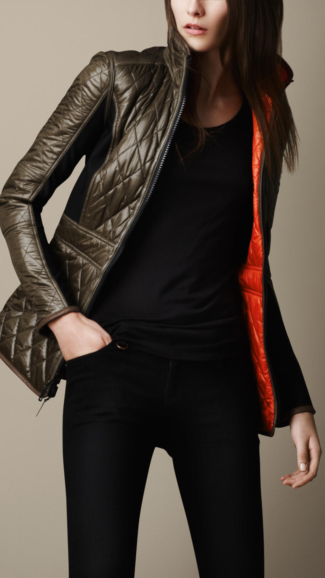 Lyst Burberry Brit Sport Collection Reversible Quilted