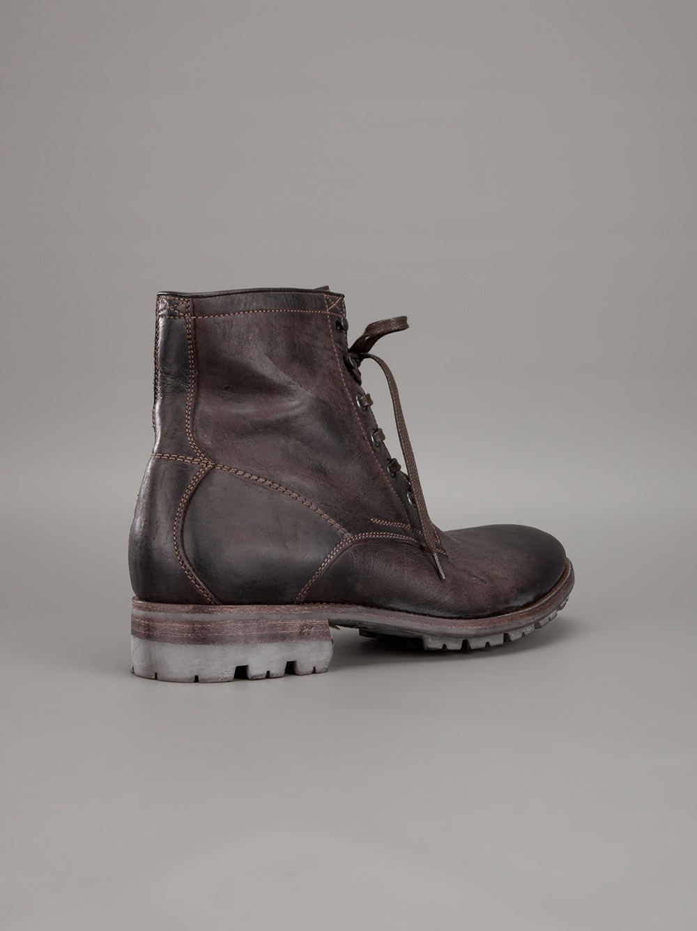 ndc lace up boots in brown for lyst