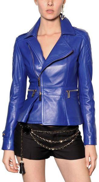 DSquared2 Matelassé Nappa Leather Jacket - Lyst