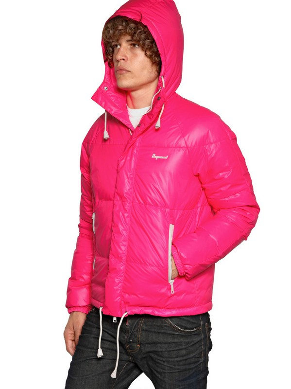 Lyst Dsquared 178 Puffy Kway Padded Nylon Down Jacket In
