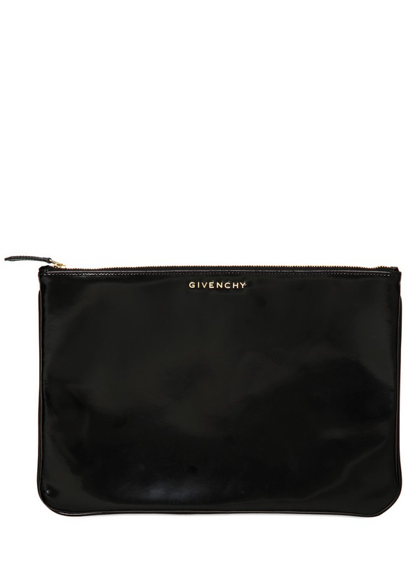 Givenchy Double Sided Cotton Leather Pouch Bag for Men | Lyst