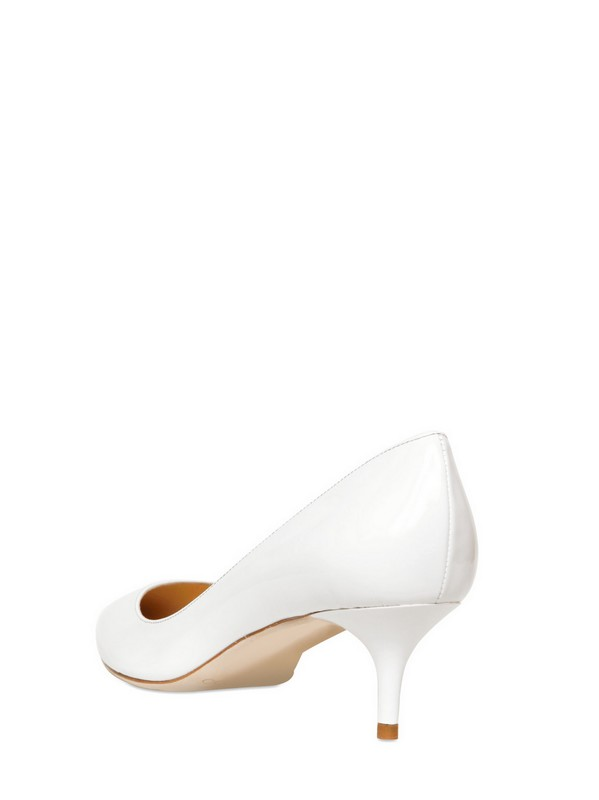 Lyst Jimmy Choo 50mm Aza Patent Leather Pointy Pumps In