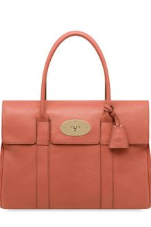 Mulberry Bayswater Smooth Leather Top Handle - Lyst