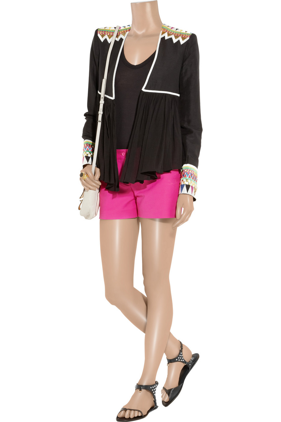 Sass and Bide Rose Embroided Cape Jacket - Roblox