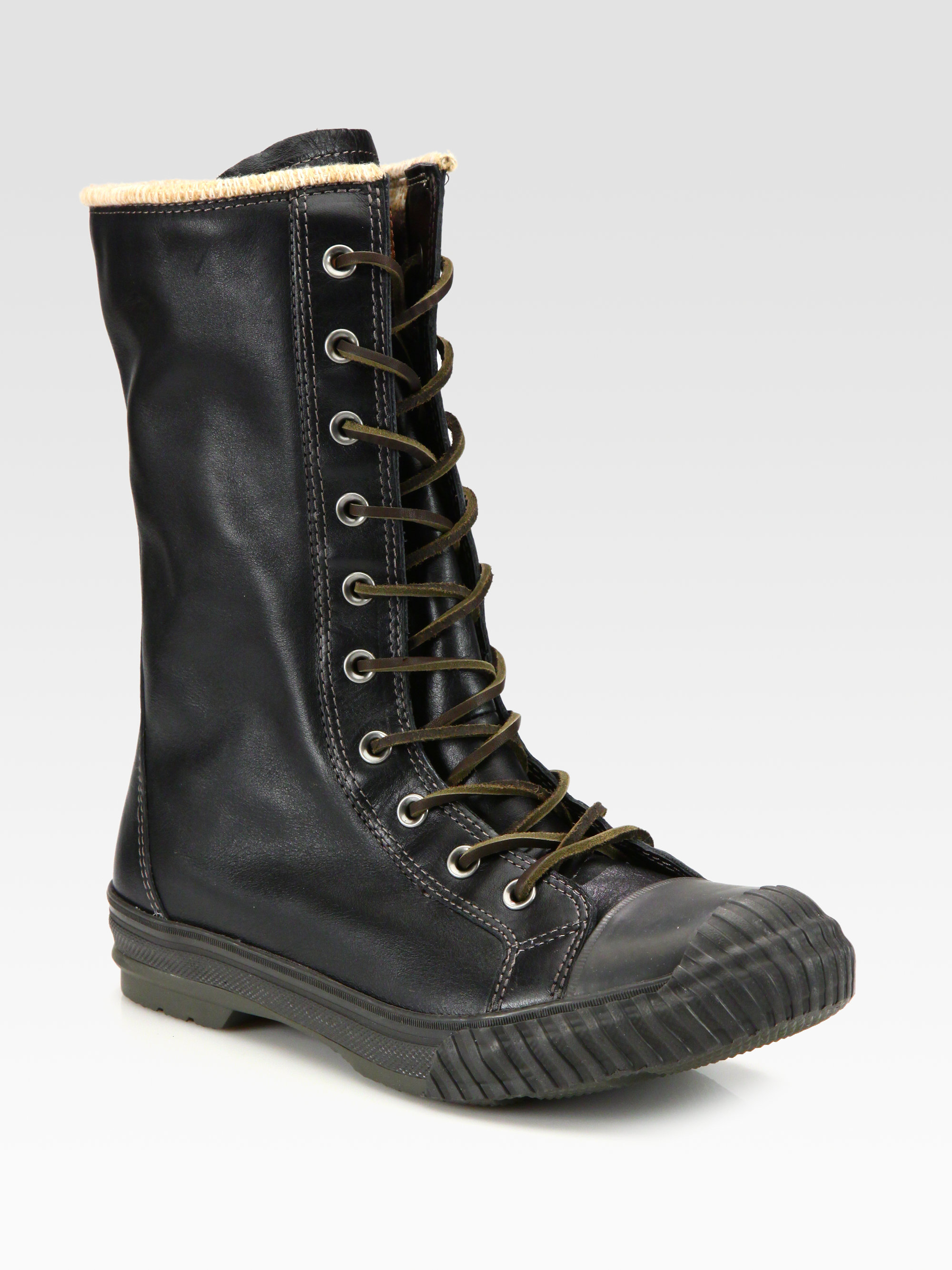 33c91d4b0ffe Lyst - Converse Chuck Taylor All Star Bosey Tall Boots in Black for Men