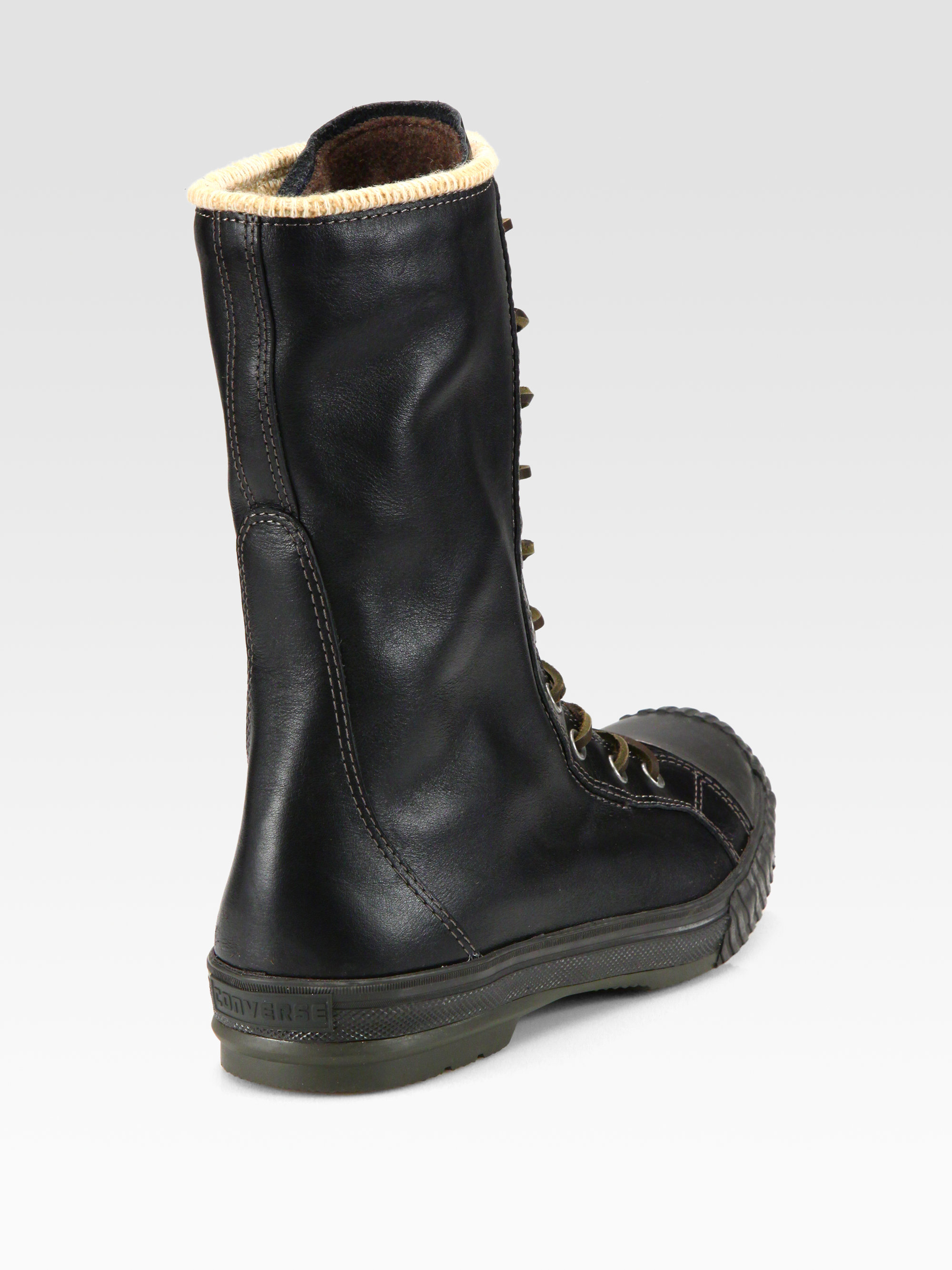 Lyst Converse Chuck Taylor All Star Bosey Tall Boots In