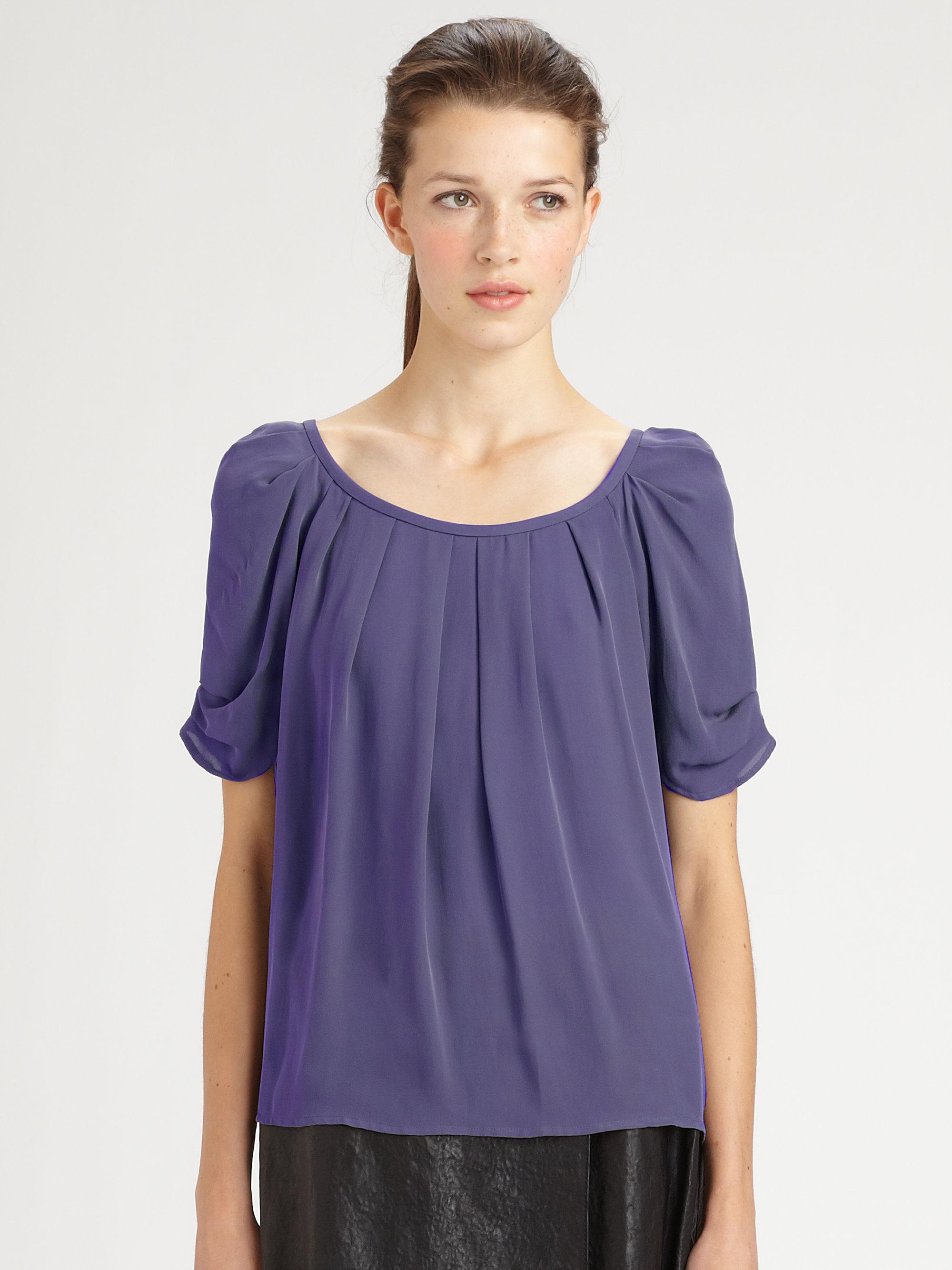 fb0e87035aa29 Purple silk blouse sale lauren goss jpg 2000x2667 Purple silk blouses