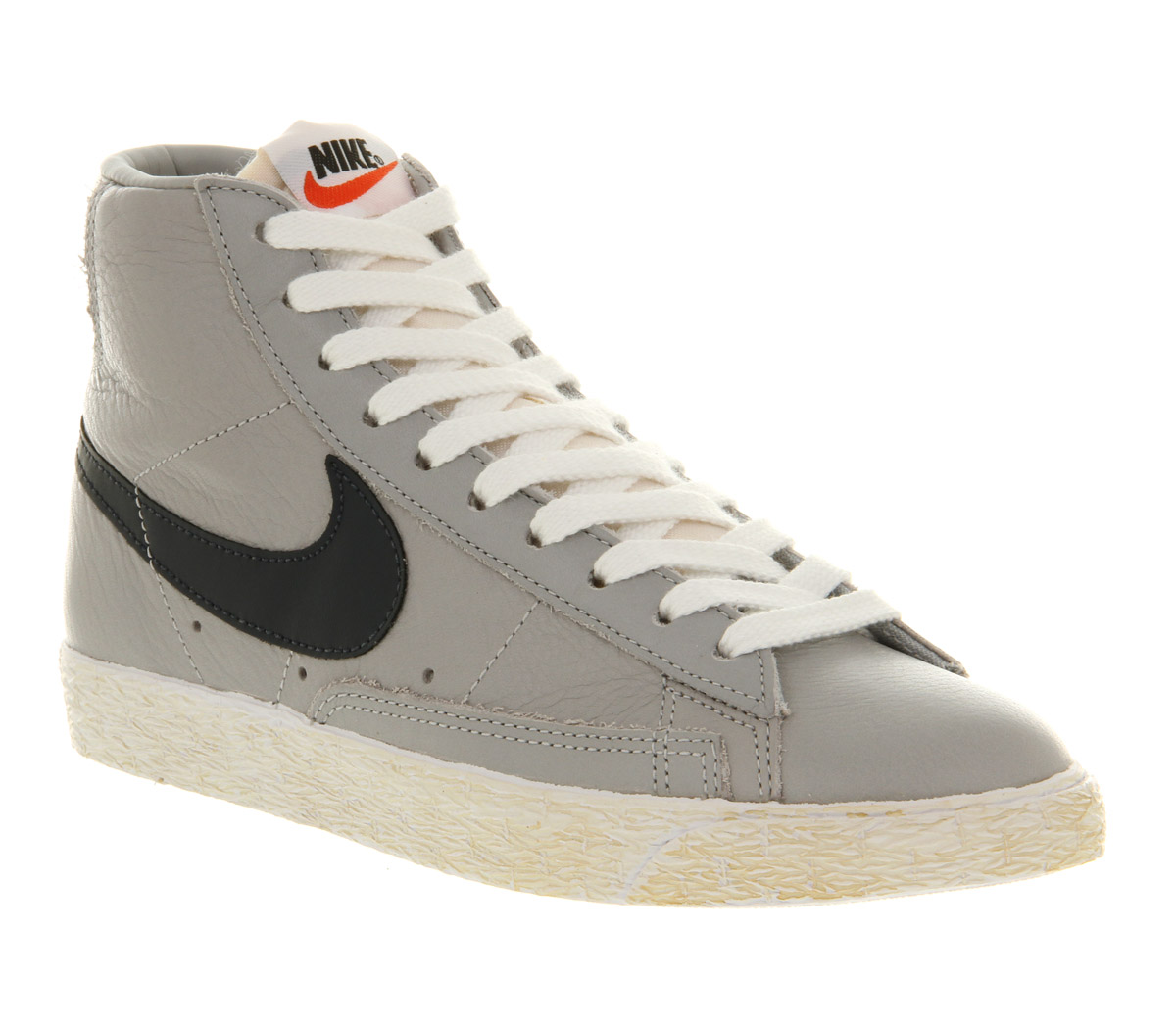 buy popular 6131d d5ebf Nike Gray Blazer Mid Vintage Leather Wolf Grey Obsidian Blue Exclusive for  men