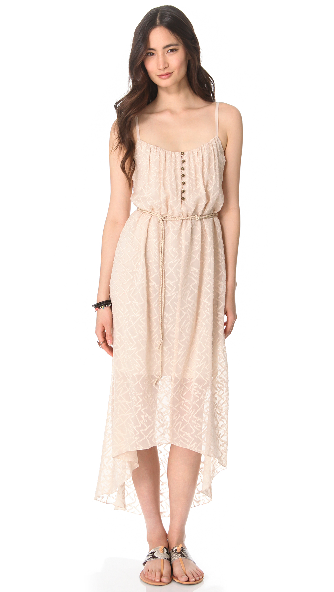 twelfth cynthia vincent belted high low dress in
