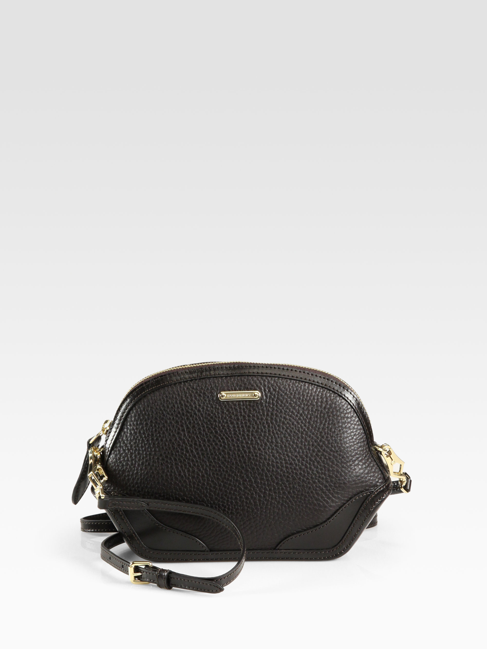 Lyst - Burberry Orchard Crossbody Bag in Black cd0981cfdd6f2