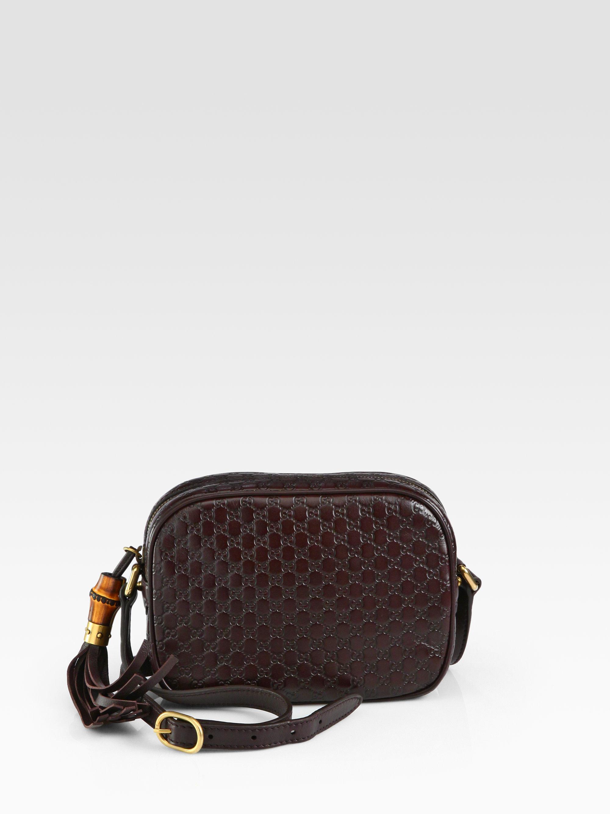 cd030524d0eaa Lyst - Gucci Sunshine Microguccissima Disco Bag in Brown