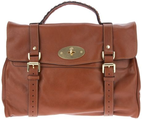 Mulberry Bayswater Bag in Brown (oak)