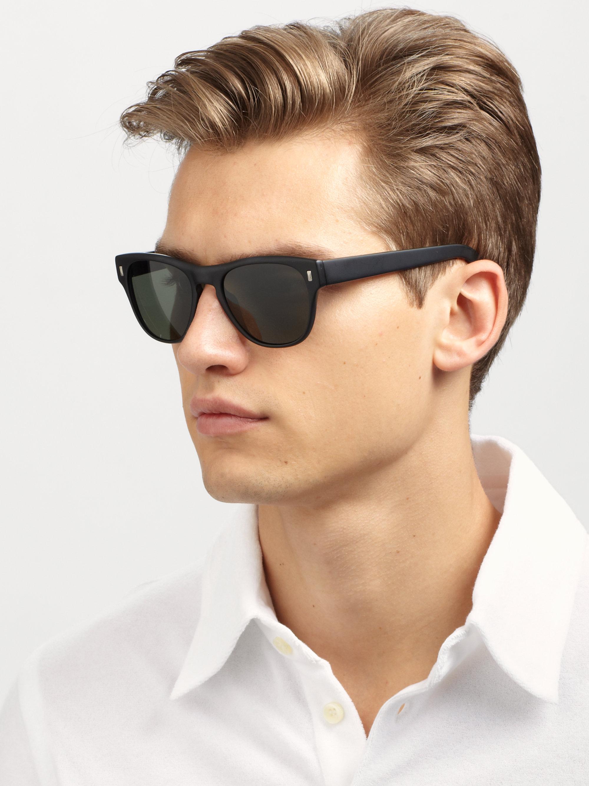 Men Oliver Acetate Black Shean Sunglasses Peoples For oedCxBWr