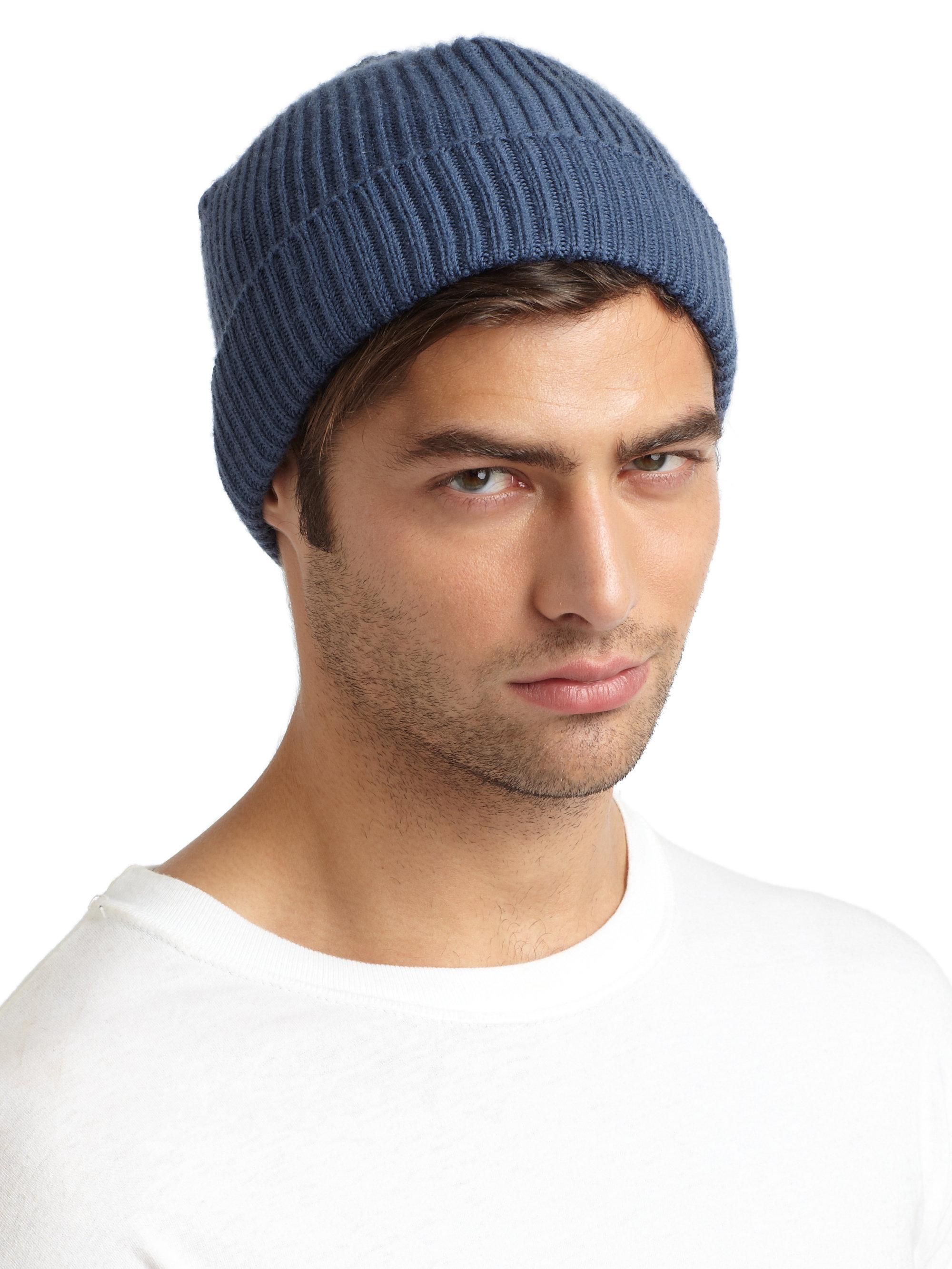 3e0753a13 Portolano Blue Merino Wool Hat for men